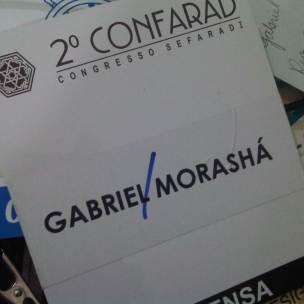 Cobertura do 2º Confarad - Congresso Sefaradi para revista Morashá (São Paulo, 2001)