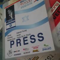 Cobertura dos jogos esportivos judaicos Maccabiah (Ramat Gan, Israel, 2009)