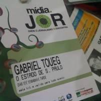 Participação na conferência Midia Jor (São Paulo, 2012)