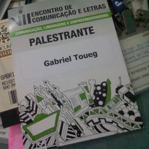 Palestra sobre Jornalismo Internacional e Internet na Universidade Presbiteriana Mackenzie (São Paulo, 2012)