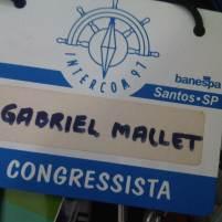 Participação, ainda como estudante, na Intercom (Santos, SP, 1997)