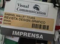 Cobertura da feira 'Visual Communication' para Design Gráfico São Paulo, s/d)