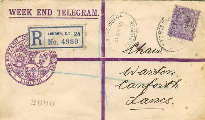 Uma carta de Londres