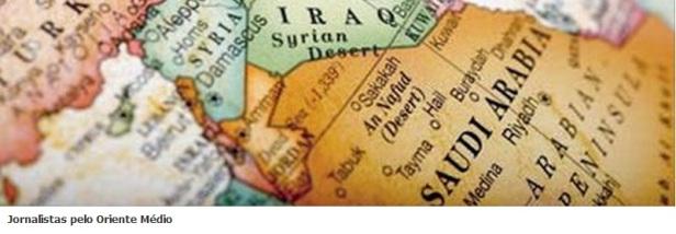 Jornalistas pelo Oriente Médio