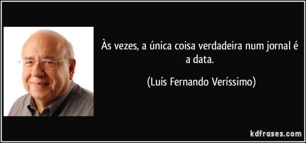 Luis Fernando Veríssimo jornal