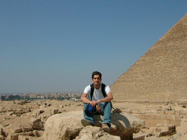 Gabriel Toueg no Egito