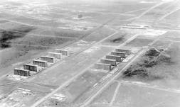 A construção de Brasília, que se tornaria a capital brasileira (1960)