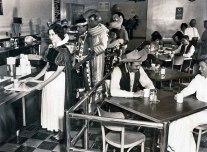 Lanchonete de funcionários na Disneyland, em 1961