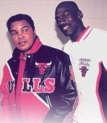 Muhammad Ali e Michael Jordan (1992)