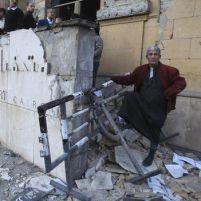 O Museu de Arte Islâmica, no Cairo, Egito, destruído por um carro-bomba em janeiro de 2014