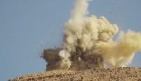 Palmira (Síria) durante destruição