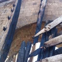 Roda hidráulica em Hama, na Síria, incendiadas