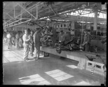 A primeira fábrica de carros da Ford nos EUA, em 1926