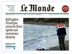 capa Le Monde 4set2015