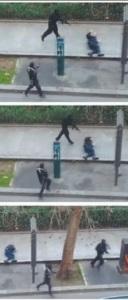Ataque contra policial francês (foto: Jaky Naegelen/Reuters/Metro Jornal)
