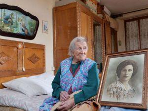 Agora, Emma Morano é a mulher mais velha do mundo (foto: Antonino Di Marco/EPA)