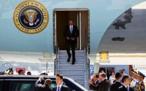 Obama chegada G20