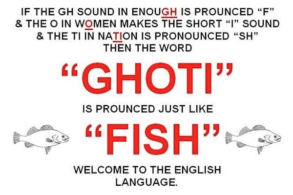 ghoti fish